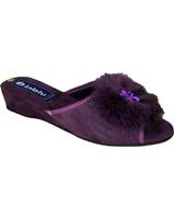 """Тапочки домашние """"Inblu"""", цвет фиолетовый"""
